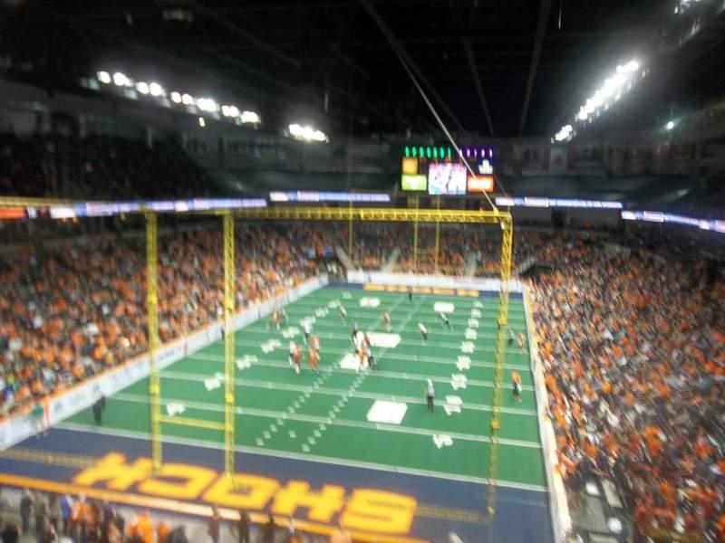Spokane Arena, Abschnitt: 223, Reihe: M, Platz: 15