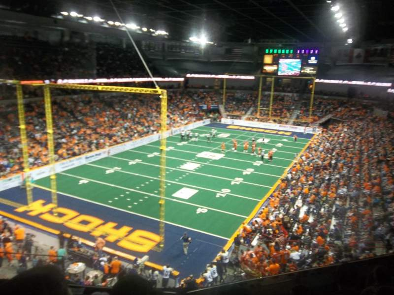Spokane Arena, Abschnitt: 224, Reihe: M, Platz: 4