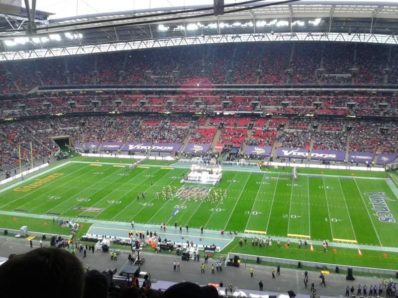 Sitzplatz-Aussicht für Wembley Stadium Abschnitt 524 Reihe 25 Platz 333