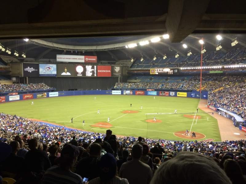Sitzplatz-Aussicht für Olympic Stadium, Montreal Abschnitt 210 Reihe M Platz 8