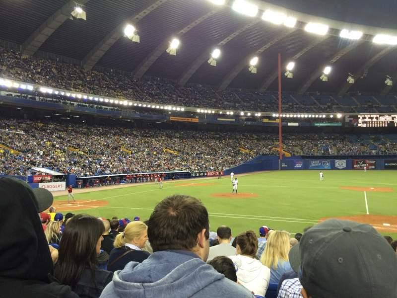 Sitzplatz-Aussicht für Olympic Stadium, Montreal Abschnitt 111 Reihe PP Platz 7