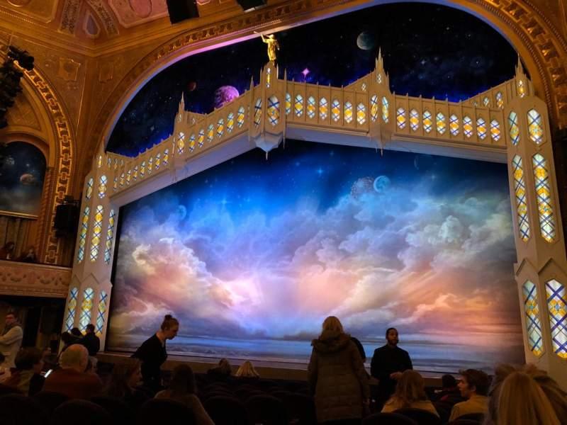 Eugene O'Neill Theatre, Abschnitt: Orchestra, Reihe: M
