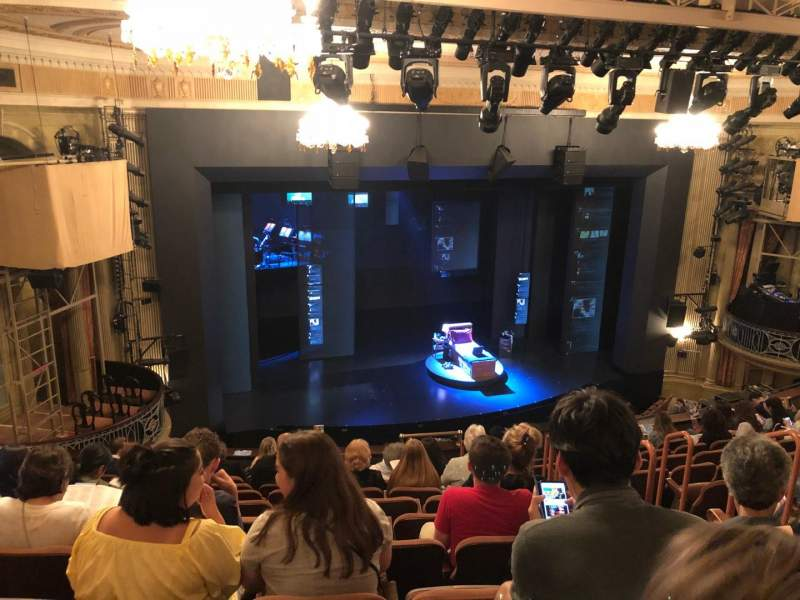 Music Box Theatre, Abschnitt: Mezz, Reihe: L, Platz: 11