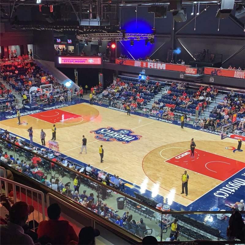 Sitzplatz-Aussicht für Entertainment And Sports Arena Abschnitt 202 Reihe FF Platz 6