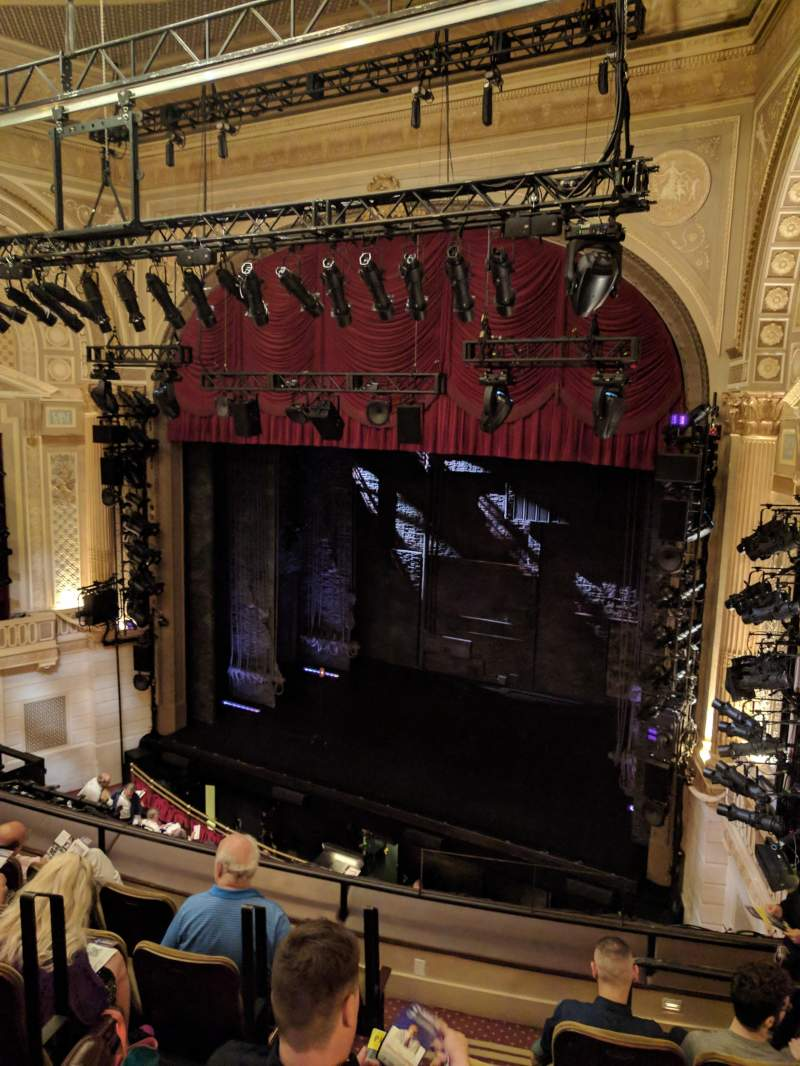 Sitzplatz-Aussicht für Samuel J. Friedman Theatre Abschnitt MEZZ Reihe D Platz 6