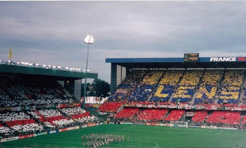 Sitzplatz-Aussicht für Stade Bollaert-Delelis