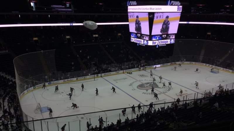 Nationwide Arena, Abschnitt: 219, Reihe: B, Platz: 24