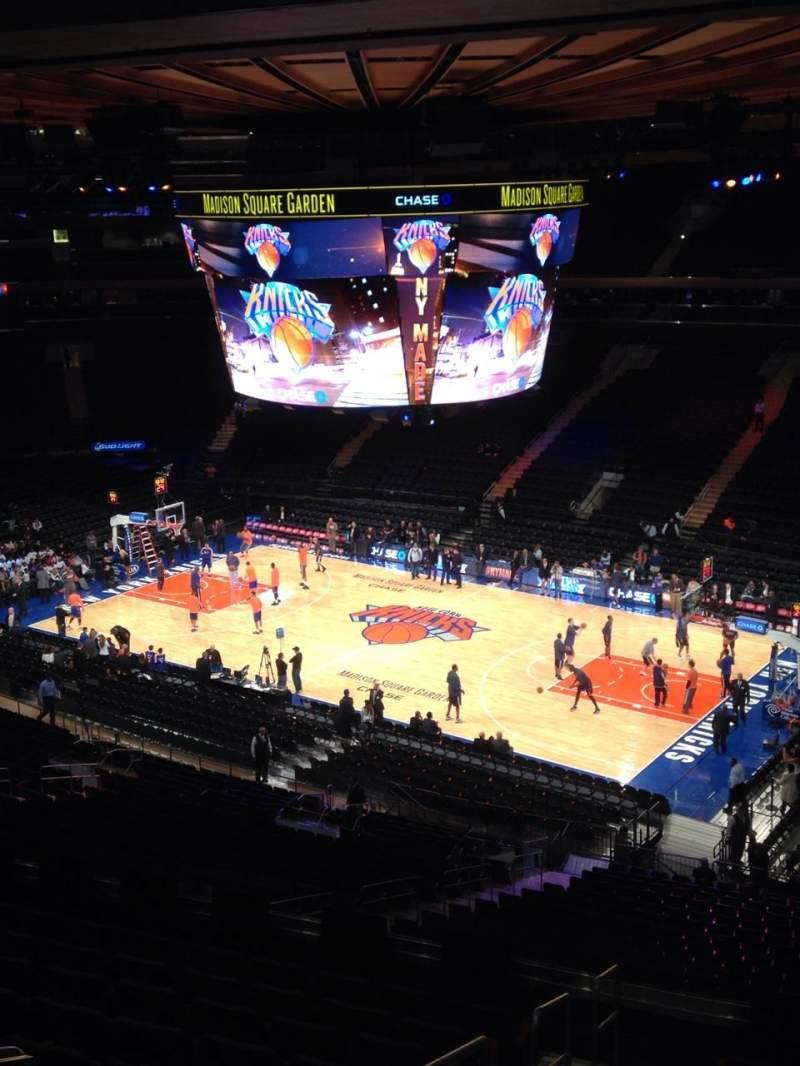 Madison Square Garden Abschnitt 227 Reihe 11 Platz 10 New