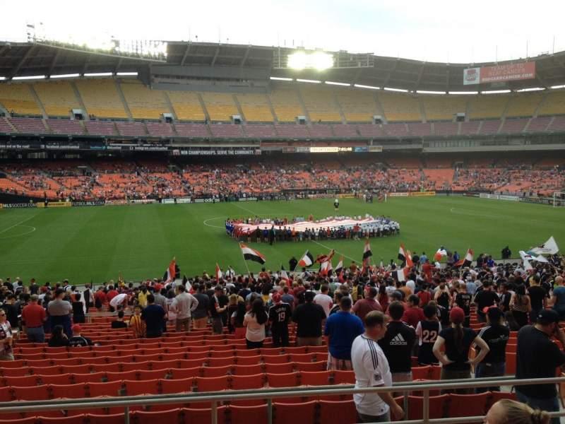 Sitzplatz-Aussicht für RFK Stadium Abschnitt 335 Reihe 6 Platz 11