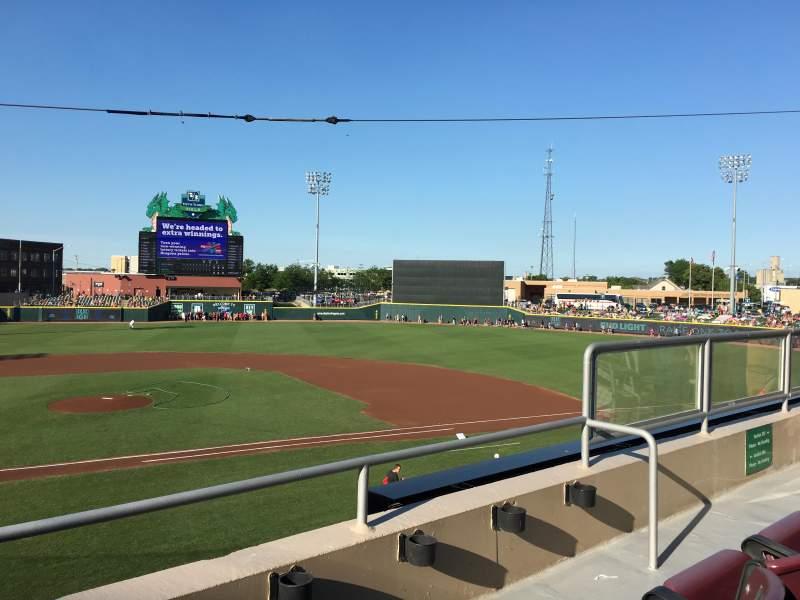Sitzplatz-Aussicht für Fifth Third Field (Dayton) Abschnitt 204 Reihe 2 Platz 5
