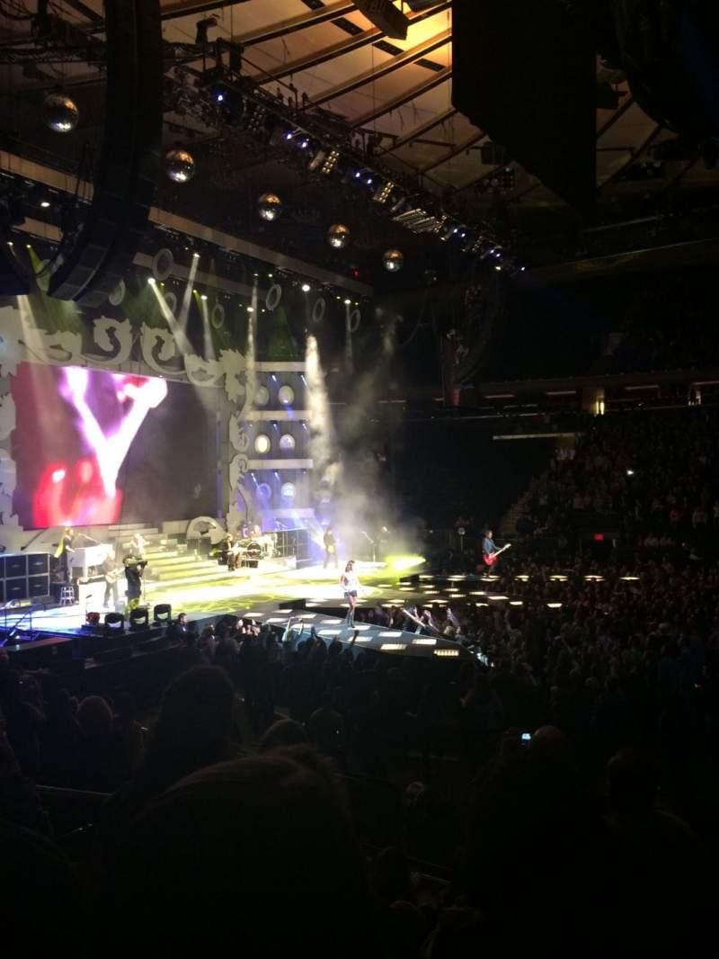 Madison Square Garden, Abschnitt: 117, Reihe: 10, Platz: 8