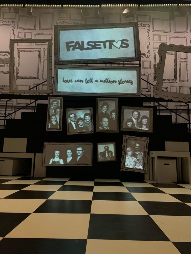 Sitzplatz-Aussicht für The Other PalaceReihe A Platz 14