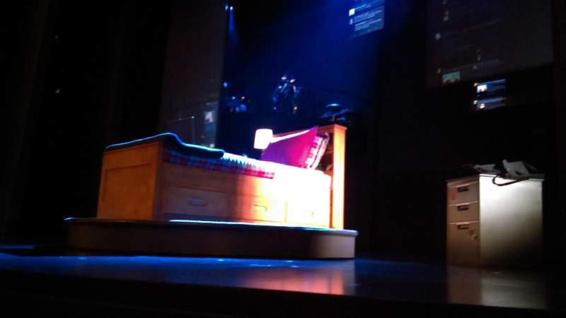 Music Box Theatre, Abschnitt: Orchestra, Reihe: A, Platz: 4