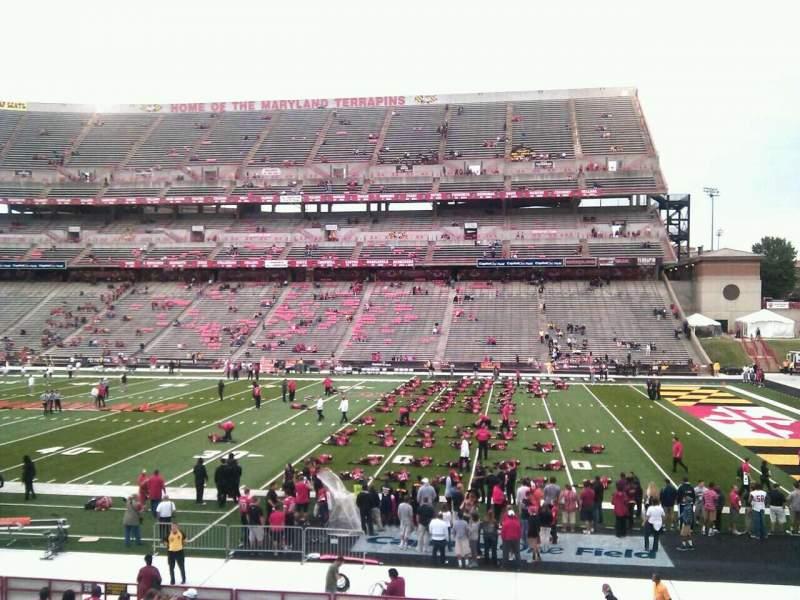 Sitzplatz-Aussicht für Maryland Stadium Abschnitt 27 Reihe bb Platz 22