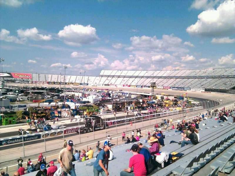 Dover International Speedway, Abschnitt: 250, Reihe: 30, Platz: 9