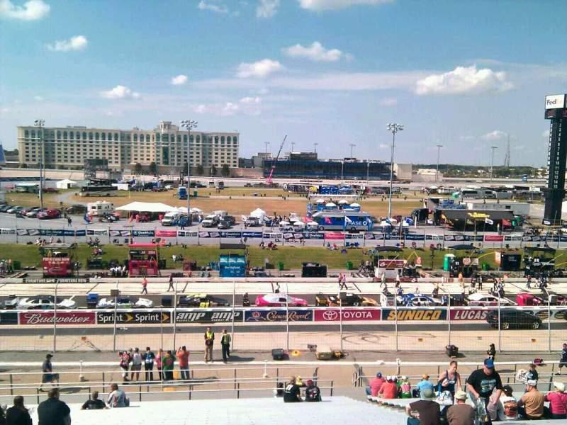 Sitzplatz-Aussicht für Dover International Speedway Abschnitt 105 Reihe 30 Platz 9