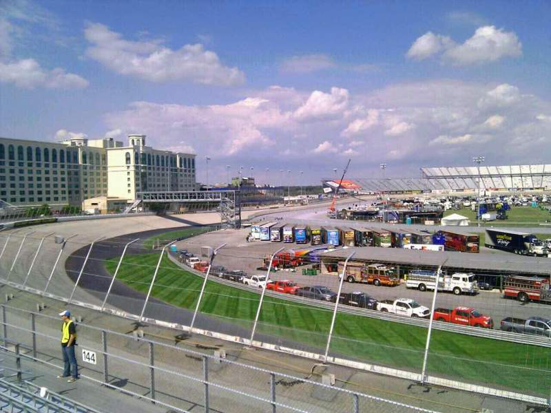 Dover International Speedway, Abschnitt: 143, Reihe: 14, Platz: 9