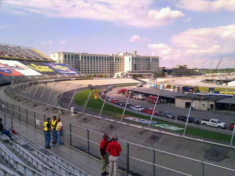 Dover International Speedway, Abschnitt: 136, Reihe: 14, Platz: 9