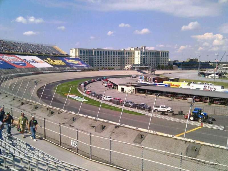 Dover International Speedway, Abschnitt: 131, Reihe: 14, Platz: 9