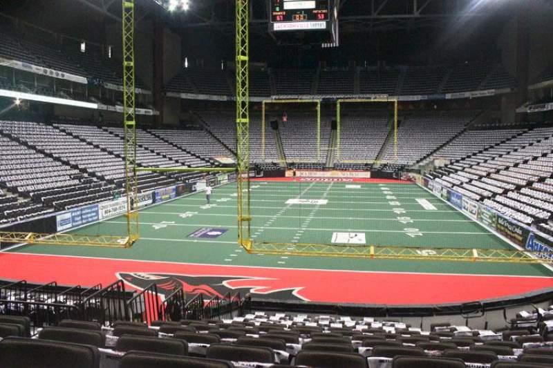 Sitzplatz-Aussicht für Jacksonville Veterans Memorial Arena Abschnitt 120 Reihe N Platz 7