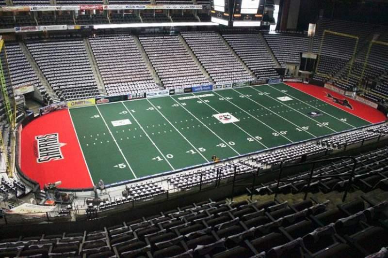 Jacksonville Veterans Memorial Arena, Abschnitt: 306, Reihe: H, Platz: 7