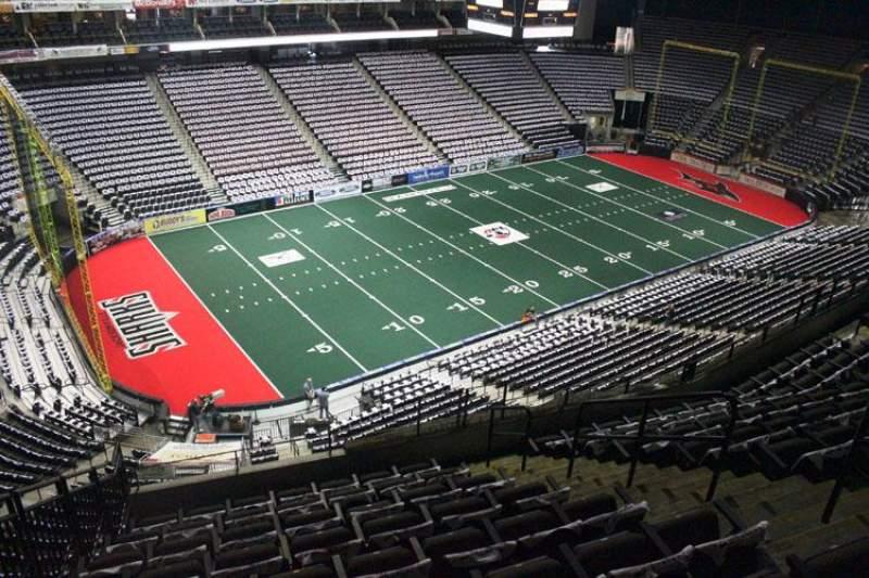 Jacksonville Veterans Memorial Arena, Abschnitt: 307, Reihe: H, Platz: 8