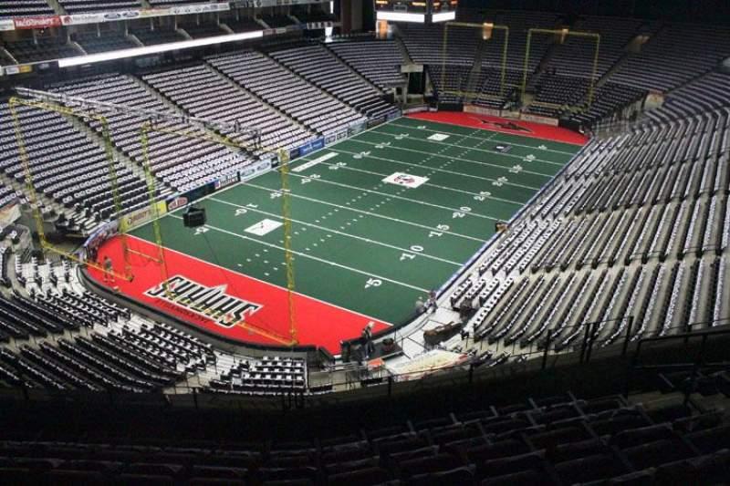 Jacksonville Veterans Memorial Arena, Abschnitt: 308, Reihe: E, Platz: 4