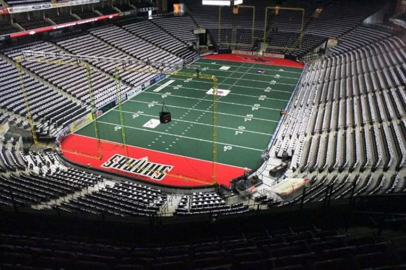 Jacksonville Veterans Memorial Arena, Abschnitt: 310, Reihe: F, Platz: 7