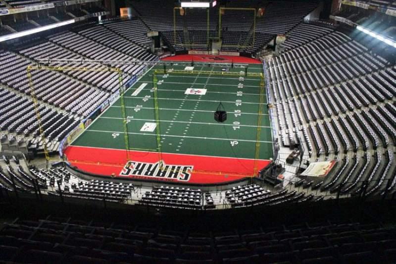 Jacksonville Veterans Memorial Arena, Abschnitt: 311, Reihe: F, Platz: 6