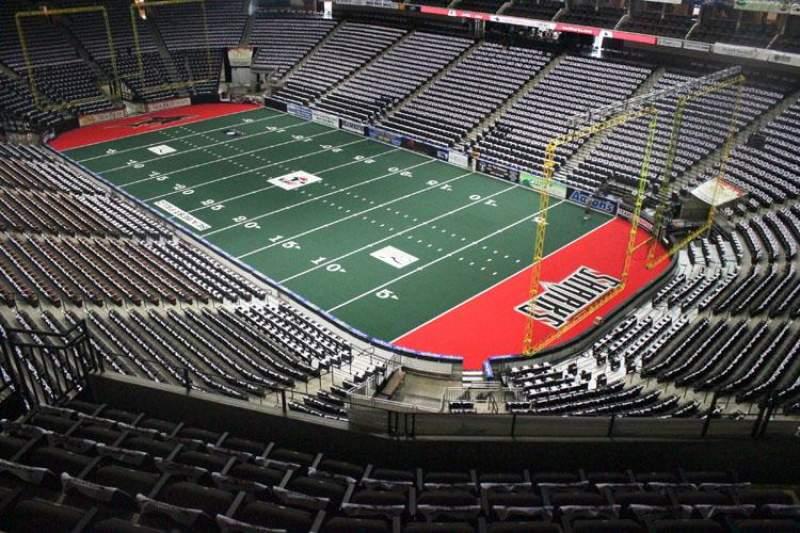 Jacksonville Veterans Memorial Arena, Abschnitt: 317, Reihe: F, Platz: 7
