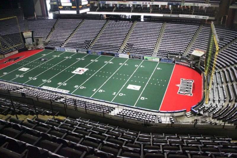 Jacksonville Veterans Memorial Arena, Abschnitt: 318, Reihe: G, Platz: 7
