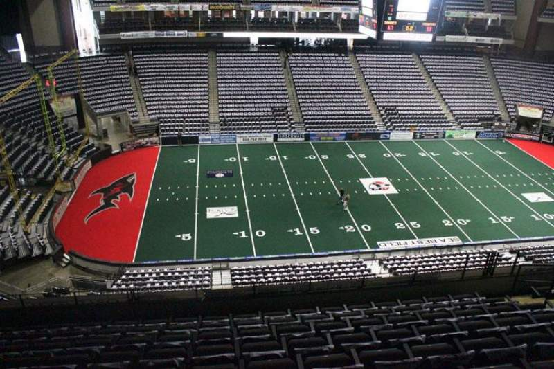 Jacksonville Veterans Memorial Arena, Abschnitt: 322, Reihe: F, Platz: 9