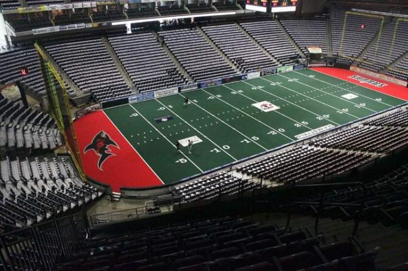 Jacksonville Veterans Memorial Arena, Abschnitt: 324, Reihe: G, Platz: 6