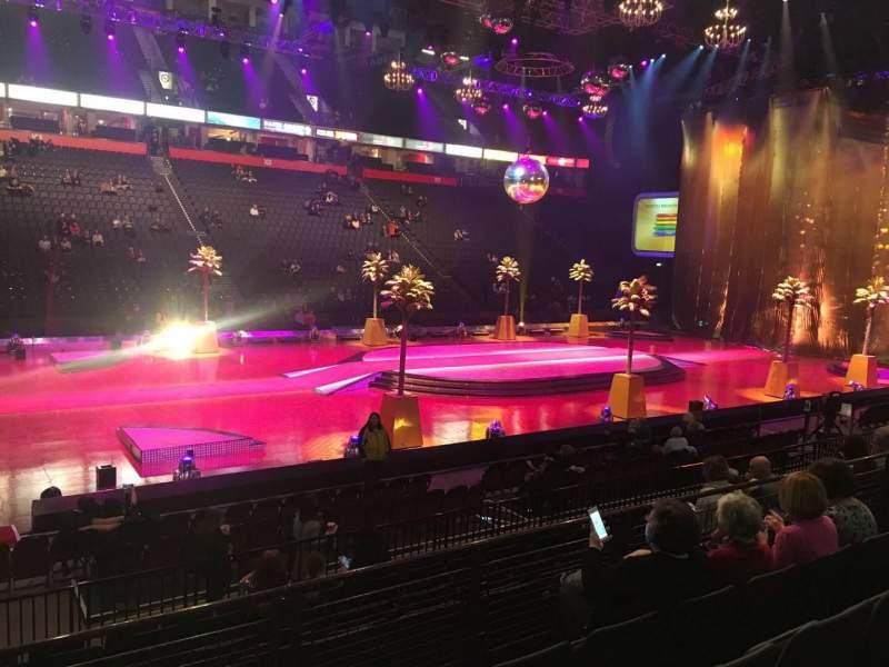 Manchester Arena, Abschnitt: 113, Reihe: K, Platz: 3