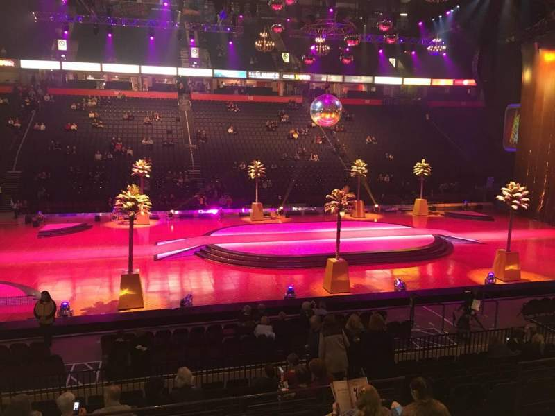 Manchester Arena, Abschnitt: 113, Reihe: M, Platz: 24