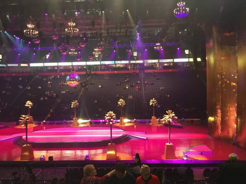Manchester Arena, Abschnitt: 114, Reihe: P, Platz: 26