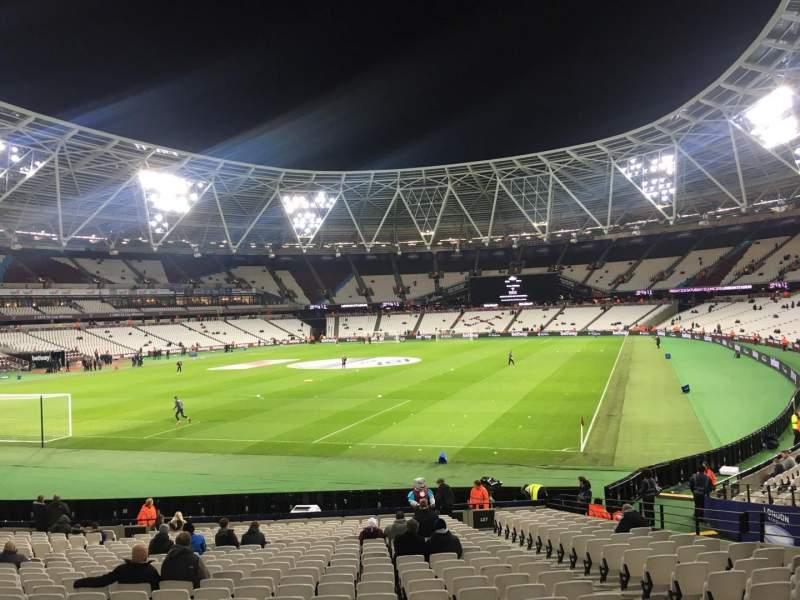 London Stadium, Abschnitt: 127, Reihe: 22