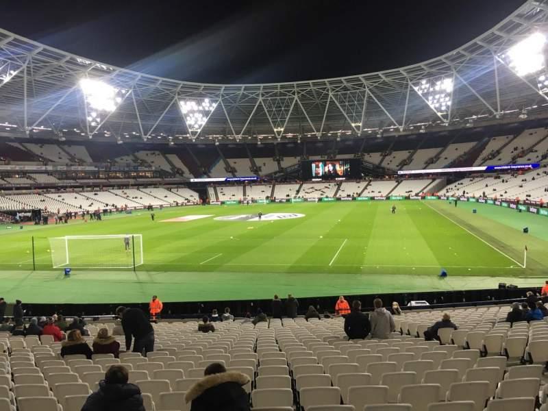 London Stadium, Abschnitt: 126, Reihe: 22