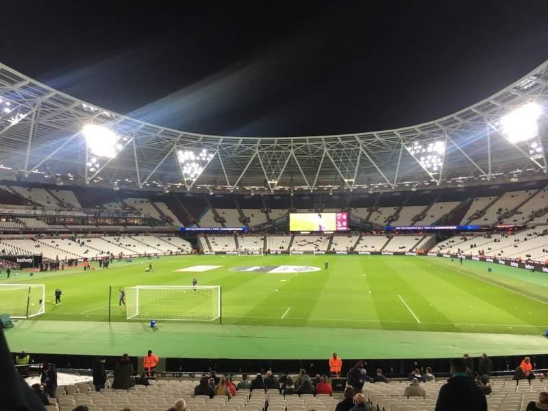 London Stadium, Abschnitt: 125, Reihe: 22