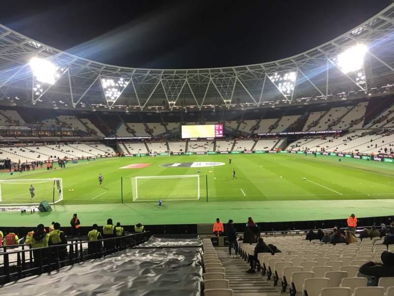 London Stadium, Abschnitt: 124, Reihe: 22