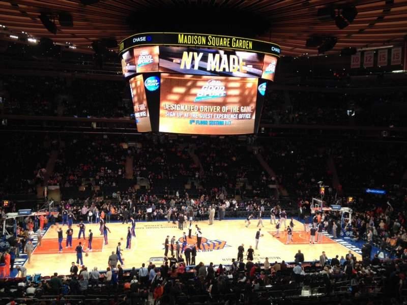 Sitzplatz-Aussicht für Madison Square Garden Abschnitt Suite 45 Platz 5