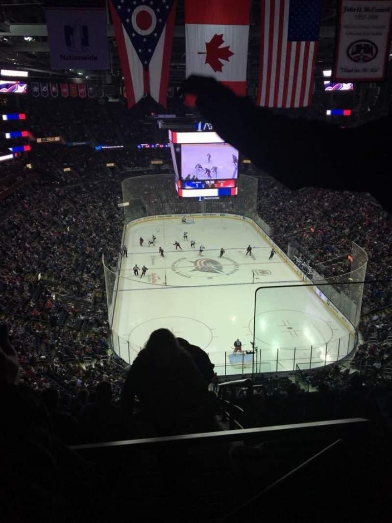 Nationwide Arena, Abschnitt: 211, Reihe: K, Platz: 1