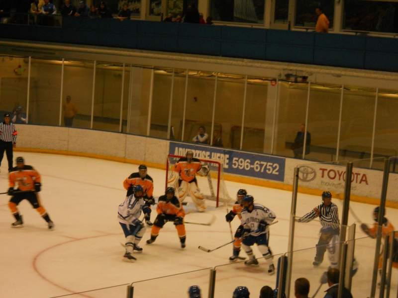 Sitzplatz-Aussicht für Cadet Ice Arena Abschnitt LL Reihe M Platz 12