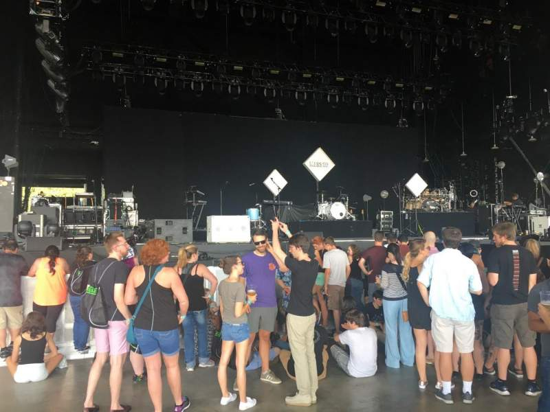 PNC Music Pavilion, Abschnitt: 2, Reihe: J, Platz: 32