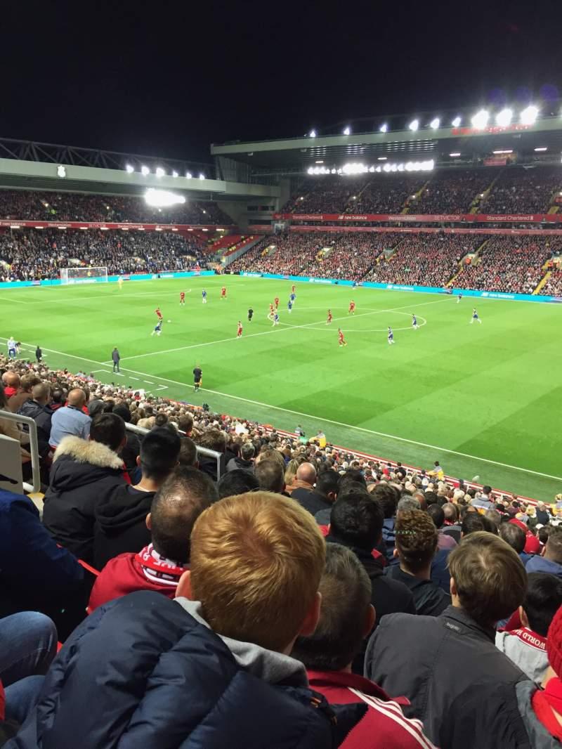 Sitzplatz-Aussicht für Anfield Abschnitt L16 Reihe 36 Platz 0215