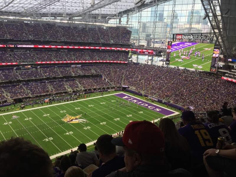 Sitzplatz-Aussicht für U.S. Bank Stadium Abschnitt 315 Reihe 11 Platz 26