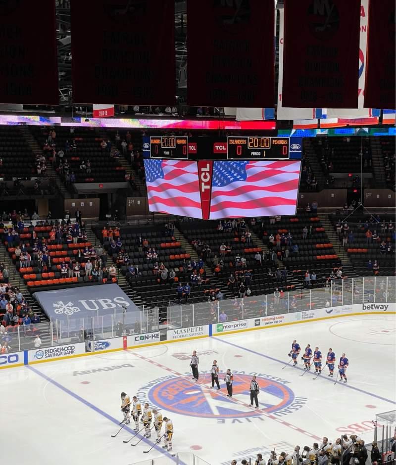Sitzplatz-Aussicht für Nassau Veterans Memorial Coliseum Bereich 226 Reihe 9 Platz 8