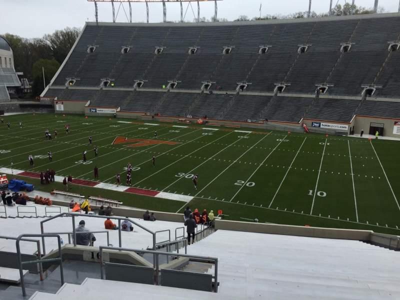 Lane Stadium, Abschnitt: 16, Reihe: XX, Platz: 14