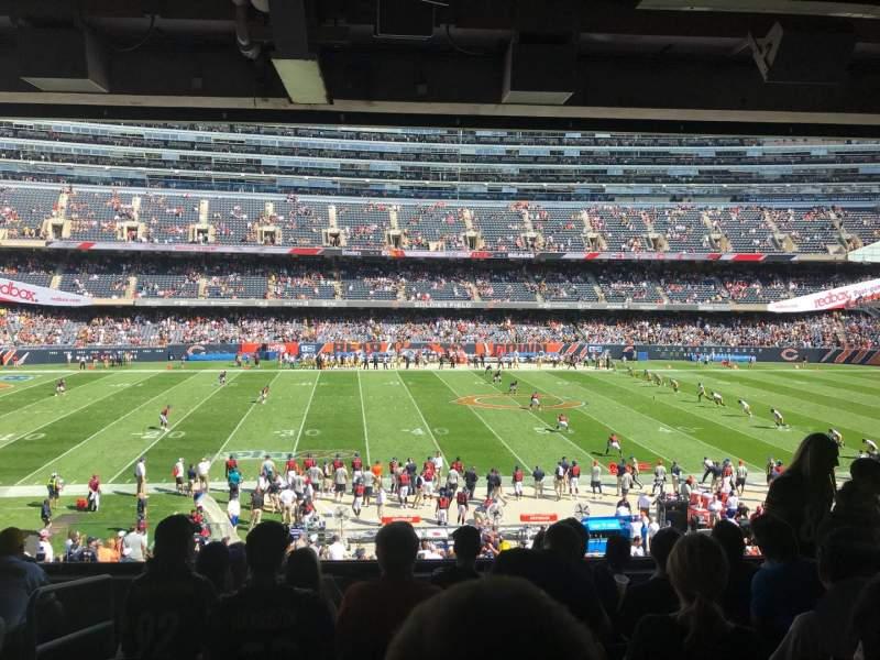 Sitzplatz-Aussicht für Soldier Field Abschnitt 239 Reihe 7 Platz 3