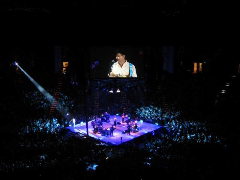 MGM Grand Garden Arena, Abschnitt: U213, Reihe: L, Platz: 10